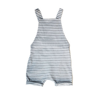 Pepe&Nika Pepe and Nika Gray Label Netherlands Amsterdam Little Apparel Baby Kids overall short-legged salopette striped organic cotton