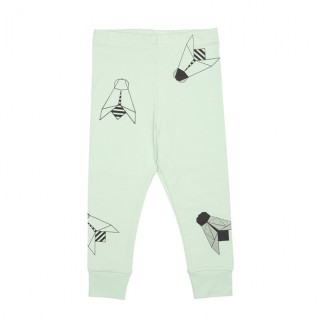 PepeandNika pepe and Nika tjorven kids estonia kinder mode Baby Boys Jungs Leggings hose Toddler grün mint green Mädchen Girls