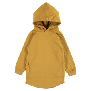 Pepe&Nika Pepe and Nika Gray Label Netherlands Amsterdam Little Apparel Baby Kids hooded dress organic cotton mustard