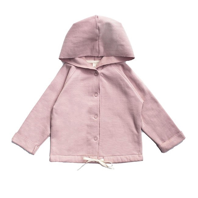 Pepe&Nika Pepe and Nika Gray Label Netherlands Amsterdam Little Apparel Baby hooded cardigan organic