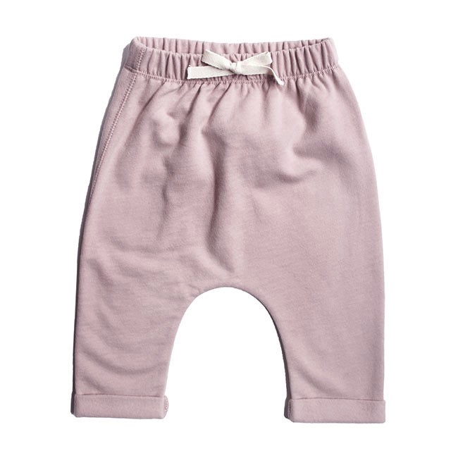 Pepe&Nika Pepe and Nika Gray Label Netherlands Amsterdam Little Apparel Baby baby pants organic trousers rose comfortable