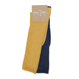 Pepe&Nika Pepe and Nika Gray Label Netherlands Amsterdam Little Apparel Baby Kids long ribbed socks organic cotton