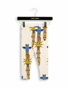 pepenika Mini Rodini Totem Baby Leggings