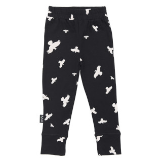 Pepe&Nika Pepe and Nika MOI Scandinavian Little Apparel Iceland Leggings Kids Baby casual stylish cool print leggings black white