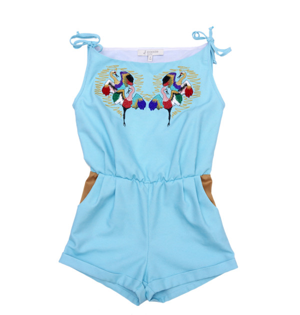 Pepe and Nika Paade Mode Jumpsuit Mädchen sommerkollektion 2016 strand
