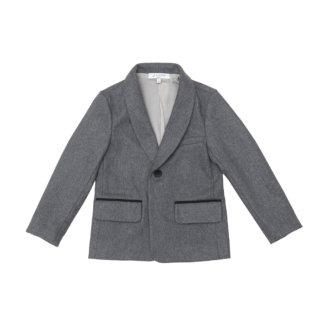 Pepe&Nika Pepe and Nika Paade Mode festive elegant suit boys jacket grey