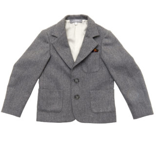 Pepe&Nika Pepe and Nika Paade Mode festive elegant Suit grey boys