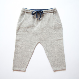 Pepe&Nika Pepe and Nika Papa Lobster Cashmere Little Apparel Germany jogging pants joggers comfortable soft grey