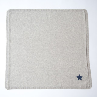Pepe&Nika Pepe and Nika Papa Lobster Cashmere Little Apparel Germany Baby Blanket Star Grey Cuddly Blanket