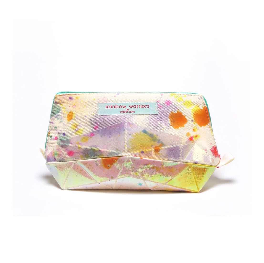 pepe and nika rainbow warriors by esther zahn made in germany colorchanging canvas pouch navy stars