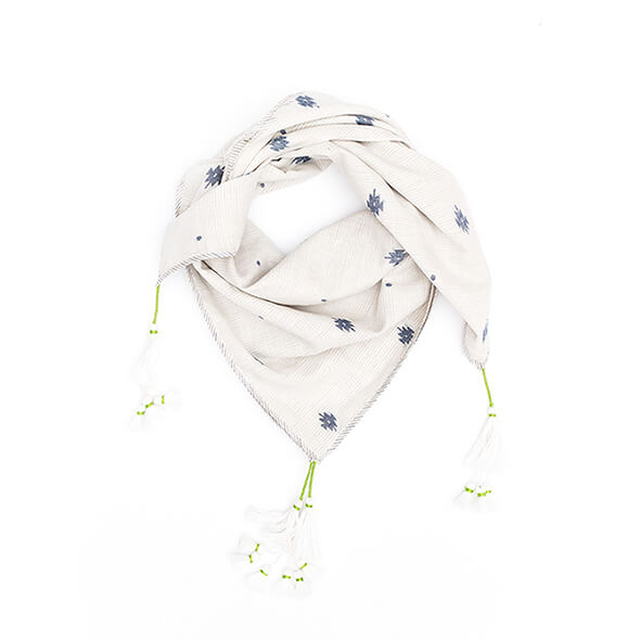 pepe and nika presents loulou des indes bohemian scarf for boys and girls from cotton made in india