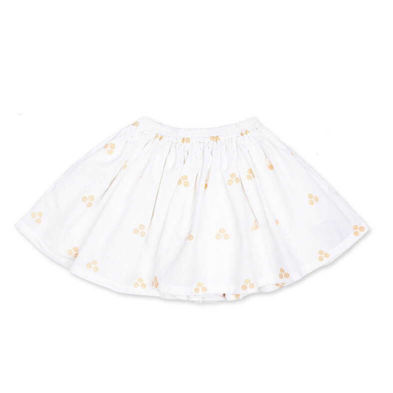 pepe and nika presents loulou des indes summery white skirt made from cotton for lovely girls