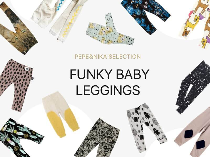 Pepe&Nika funky baby leggings for kids and babies basics de luxe colorful elegant cute crazy