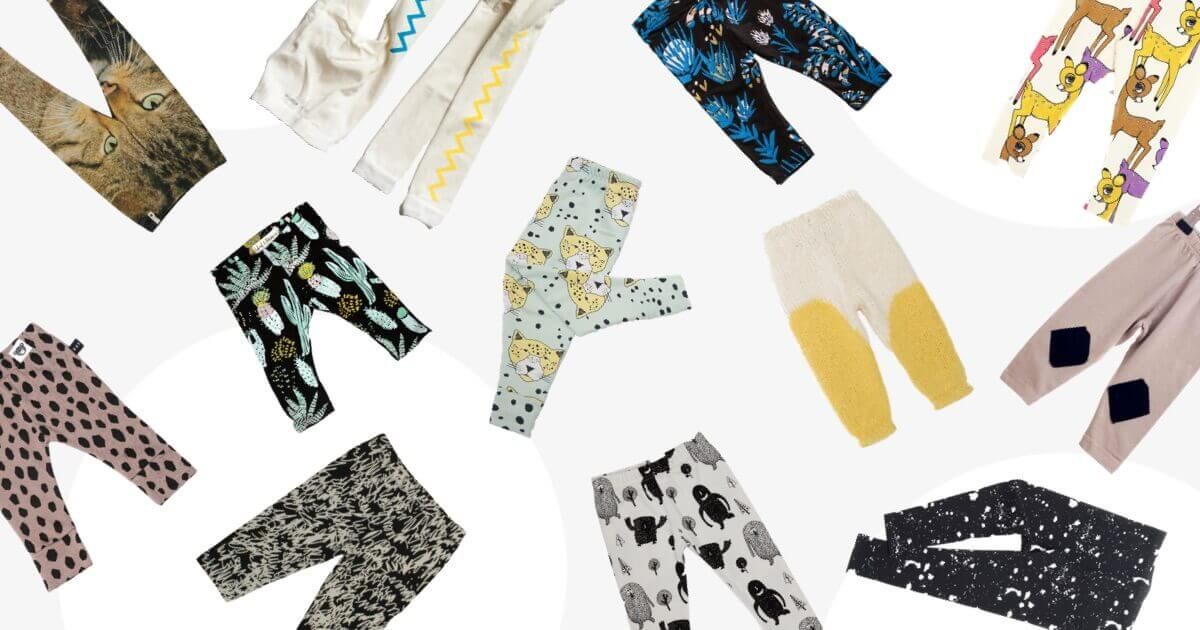 Funky Baby Leggings – to keep little legs warm