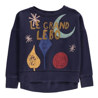 Pepe&Nika Pepe and Nika Bobo Choses Little Apparel Spain Girls Sweatshirt Moon print moon stars night comfortable