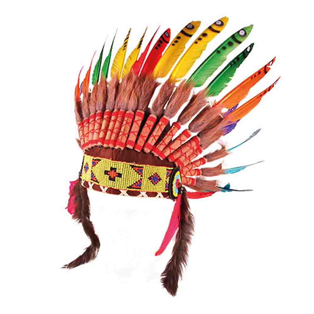 Pepe&Nika PepeandNika Kindermode Little Apparel Kids Fashion Indian Feather Headband - by SMALLABLE TOYS creative accessoires playful carnival festive gift party Fasching Kostüm kreativ verspielt Indianer Kopfschmuck accessories
