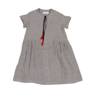 Pepe&Nika PepeandNika FROU FROU kids Little Apparel AW 16/17 Kids Fashion striped dress linen dress MILA country-chic vintage festive de luxe made in Germany de luxe hand-made handmade maiden romantic summery vernal