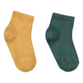 Pepeandnika Gray Label kids socks mustard sage also for babies made from the softest organic bio cotton gots