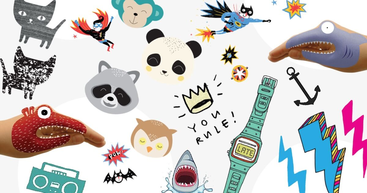 Get Inked: Hurray for Temporary Kids Tattoos!