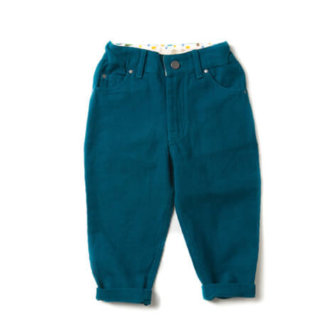 Pepe&Nika PepeandNika Little Green Radicals Kindermode UK HW 16/17 Cordhose dunkelblau herbstlich fairtrade fair-trade bio organic deep blue Corduroy Jeans