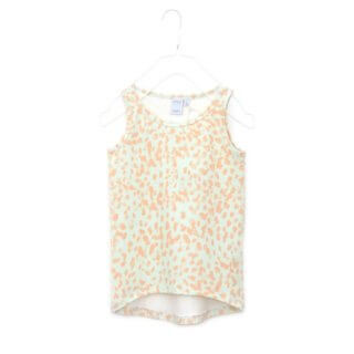 Pepe&Nika PepeandNika Kids Fashion Little Apparel Kindermode Little Man Happy Berlin Tank Top coral smudges green apricot grün bio organic T-Shirt summery sommerlich casual