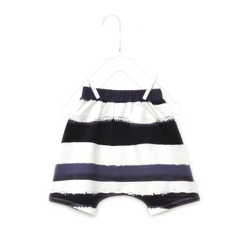 Pepe&Nika PepeandNika Kids Fashion Little Apparel Kindermode Little Man Happy Berlin bio organic unisex casual vernal frühlingshaft unisex hang loose short darkblue striped summery