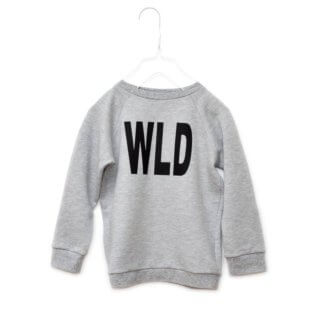 Pepe&Nika PepeandNika Kids Fashion Little Apparel Kindermode Little Man Happy Berlin bio organic unisex casual vernal frühlingshaft wild print sweater grey sporty athletics