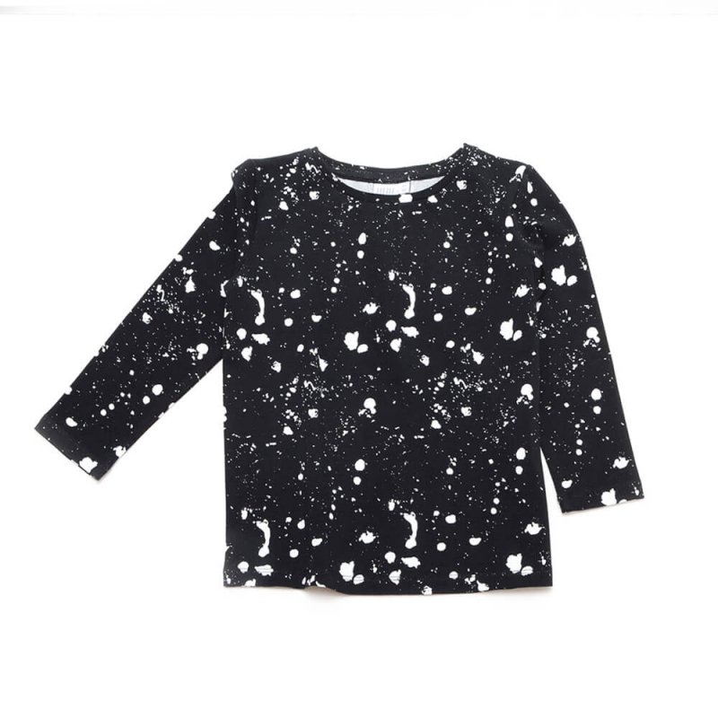 Pepe&Nika PepeandNika Little Man Happy Little Apparel Kids Fashion Berlin GALAXY Longsleeve Babies Kids funky organic AW 16/17