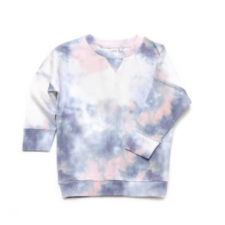 Pepe&Nika PepeandNika Little Man Happy Little Apparel Kids Fashion Berlin Sweater BLURRED LINES batik colour flow baby girls boys funky organic AW 16/17