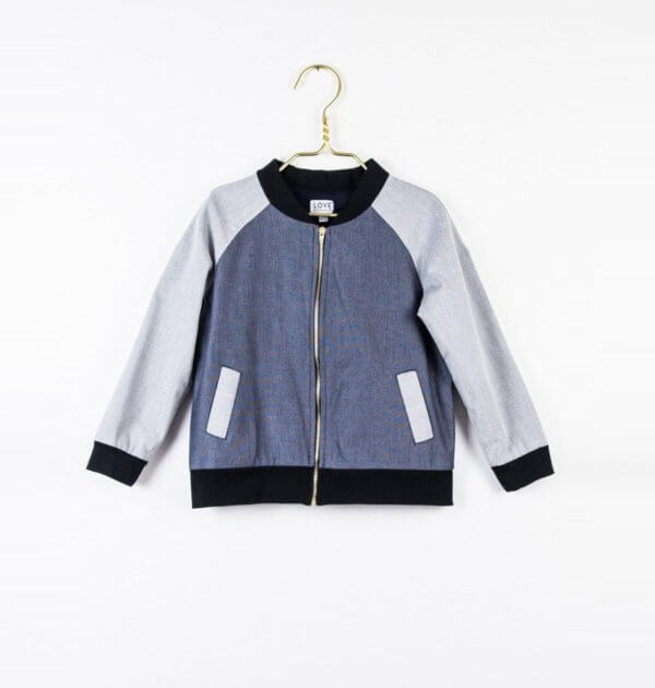 Pepe&Nika PepaandNika Little Apparel Kids Fashion Kindermode LOVE Kidswear denim blouson Jungen boys blue blau cool sporty vernal casual frühlingshaft Hugo jacket in denim