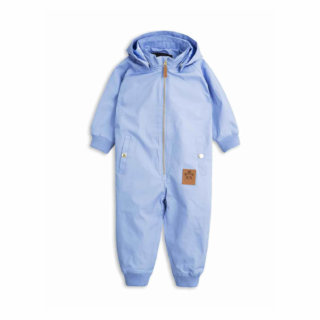 Pepe&Nika PepeandNika Little Apparel Kids Fashion Kindermode Mini Rodini Sweden Pico Overall light blue babies functional winterly winterlich Schneeanzug funktional de luxe casual plain basics einfarben schlicht hellblau warm