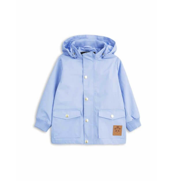 Pepe&Nika PepeandNika Little Apparel Kids Fashion Kindermode Mini Rodini Sweden Pico Jacket light blue babies functional winterly winterlich Jacke funktional de luxe casual plain basics einfarben schlicht hellblau warm