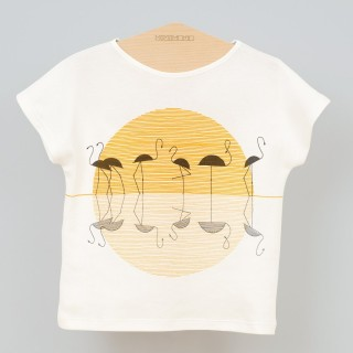 Pepe&Nika-Minimono-T-Shirt-Flamingo-Miami-Kids