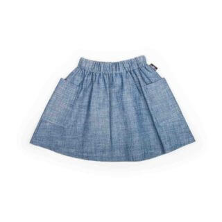Pepe&Nika PepeandNika MONKIND Berlin Kids Fashion Kindermode Little Apparel Jeans Skirt Jeansrock Jeans Rock Mädchen girls baby casual blau blue plain vernal summery sommerlich frühlingshaft organic bio