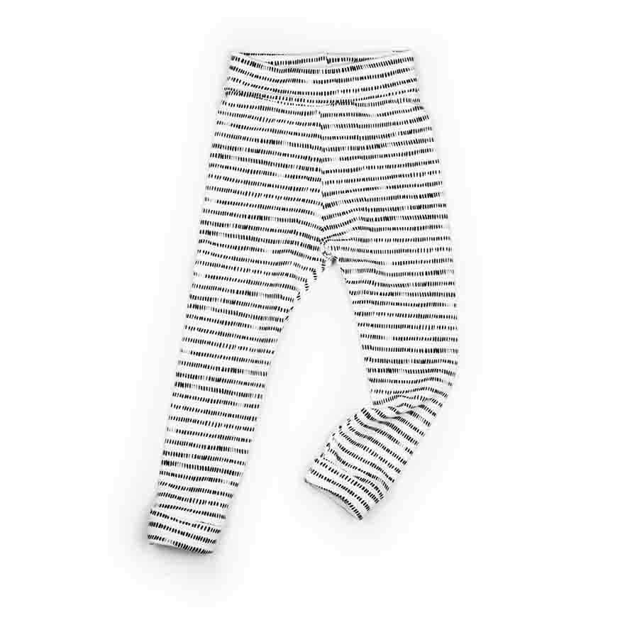 Pepe&Nika PepeandNika MONKIND Berlin Kids Fashion Kindermode Little Apparel organic bio Stripy Leggings black white schwarz weiss Baby Kids girls boys striped gestreift casual vernal autumnal frühlingshaft herbstlich
