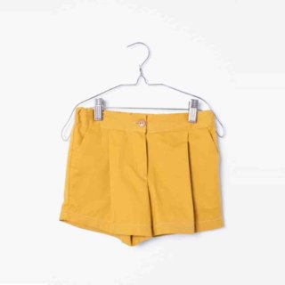 Pepe&Nika PepeandNika Little Apparel Kids Fashion Kindermode MOTORETA Spain Baby Shorts ochre yellow summery sommerlich plain ockergelb gelb chic classical klassisch schick