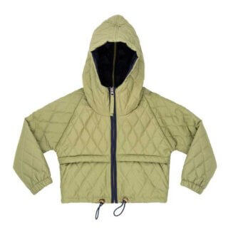 Pepe&Nika PepeandNika NOCH Quilted Jacket green eco eco friendly functional recycled upcycling winterly boys girls kids babies