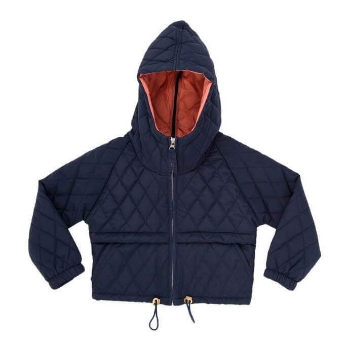Pepe&Nika PepeandNika NOCH Quilted Jacket dark blue eco eco friendly functional recycled upcycling winterly boys girls kids babies