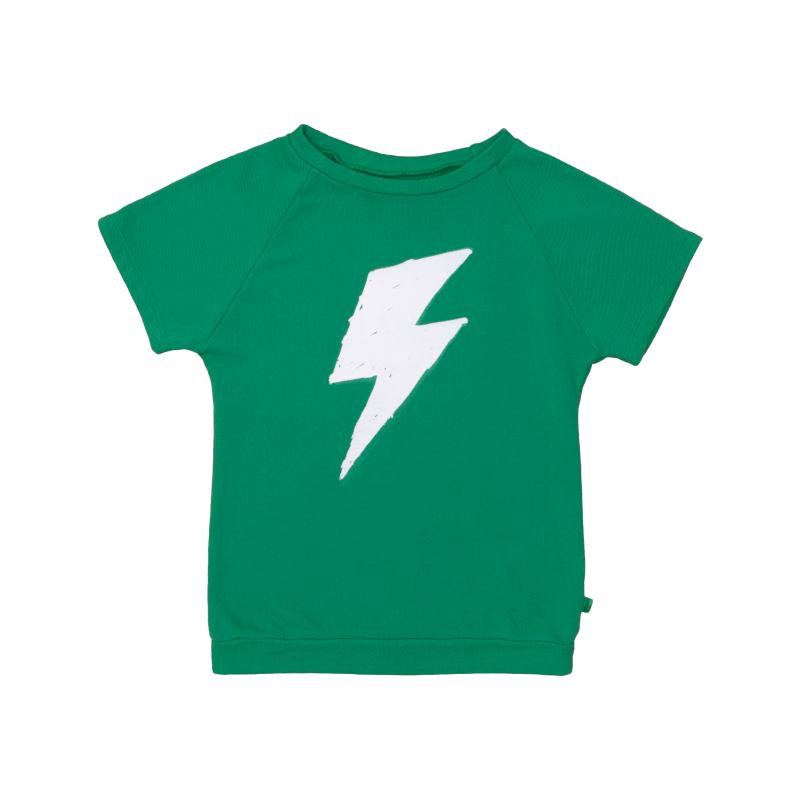 Pepe&Nika PepeandNika Kids Fashion Little Apparel Kindermode Kurzarmpullover grün Short Sweater green Noé & Zoë Berlin casual cool print sporty sportlich T-Shirt girls boys