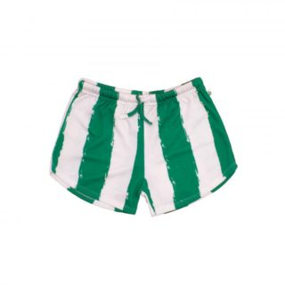 Pepe&Nika PepeandNika Litlle Apparel Kindermode Kids Fashion Noé & Zoë Shorts green and white Noé & Zoë casual striped summery Berlin sommerlich gestreift grün weiß kids