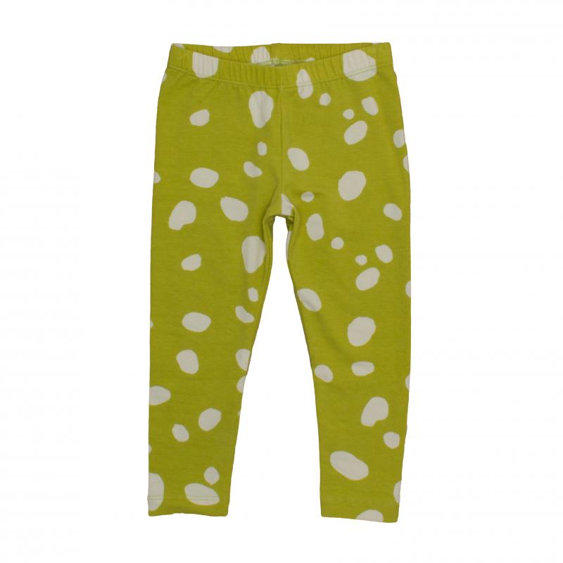 Pepe&Nika PepeandNika Noé & Zoë Little Apparel Berlin Kids Fashion Kids Leggings Blobs mustard yellow white cotton autumn collection 2016 girls