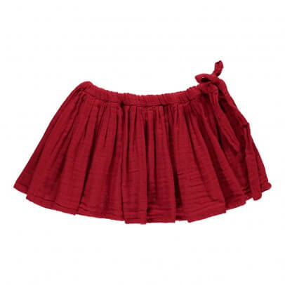 Pepe&Nika PepeandNika Little Apparel Kids Fashion Red Tutu Skirt Numero 74 autumnal casual chic cool modest summery vernal