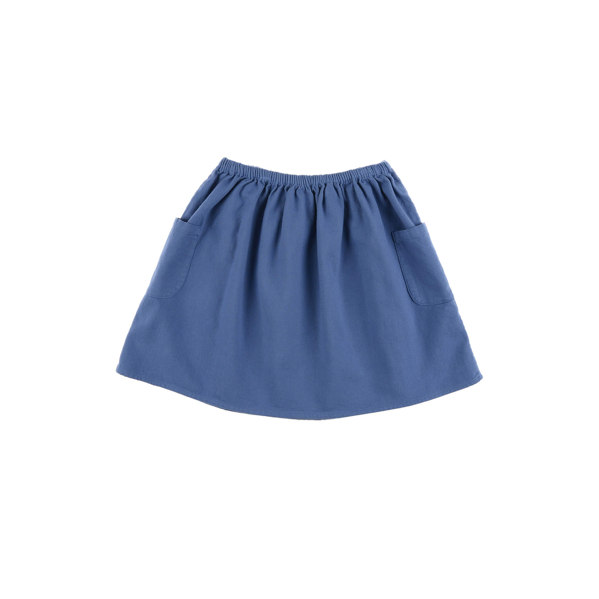 Pepe&Nika PepeandNika Little Apparel Kids Fashion Omibia girls Flannel Skirt Blue ORGANIC fairtrade autumnal AW 16/17 elegant classic casual cotton vernal