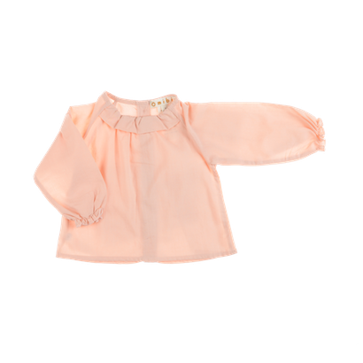 Pepe&Nika PepeandNika Little Apparel Kids Fashion Omibia Baby Blouse rose classic elegant festive de luxe basics AW 16/17 vernal organic fairtrade