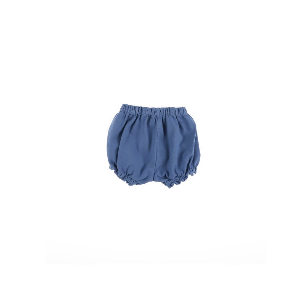 Pepe&Nika PepeandNika Little Apparel Kids Fashion Omibia Baby Flannel Bloomers blue Cornflower blue pants classic elegant festive de luxe AW 16/17 autumnal organic fair-trade bio cotton