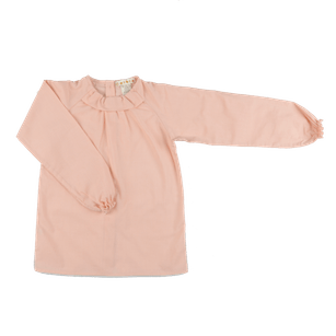 Pepe&Nika PepeandNika Little Apparel Kids Fashion Omibia Rania Blouse Frilled Shirt Rose classic elegant basics de luxe AW 16/17 autumnal organic fair-trade bio maiden vernal festive modest