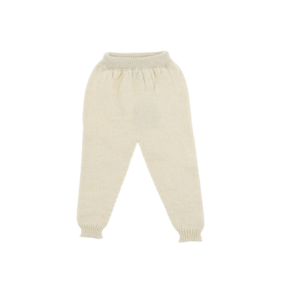 Pepe&Nika PepeandNika Little Apparel Kids Fashion Omibia Baby Wool Leggings merino ecru classic elegant basics de luxe AW 16/17 autumnal organic fair-trade bio
