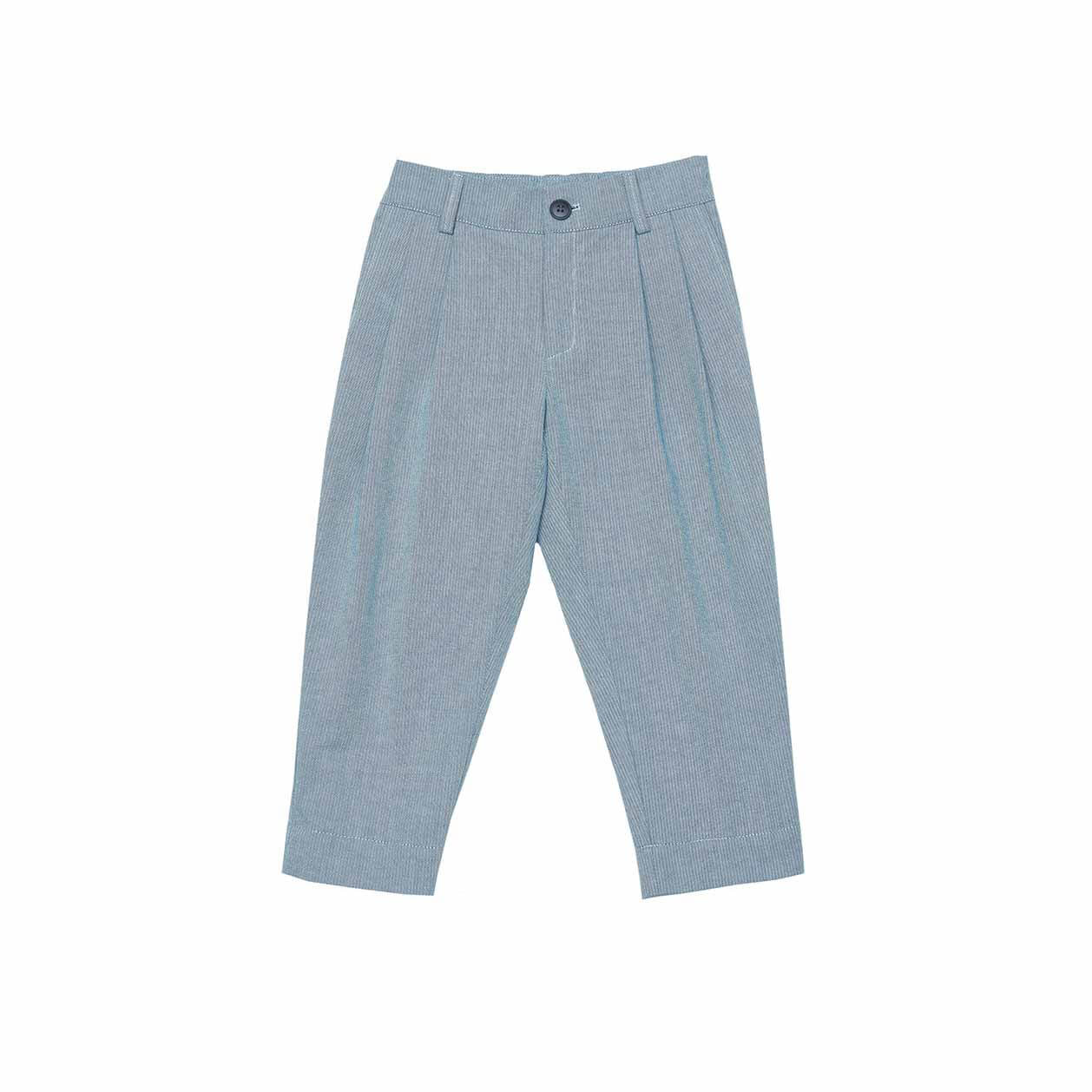 Pepe&Nika PepeandNika Little Apparel Kindermode Kids Fashion summery sommerlich vernal frühlingshaft Summery Cotton Trousers unisex boys girls organic bio elegant casual TROUSERS APPLE