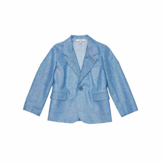 Pepe&Nika PepeandNika Little Apparel Kindermode Kids Fashion Sweater Blue Linen Blazer Leinen Blazer blau elegant chic summery sommerlich vernal frühlingshaft de luxe