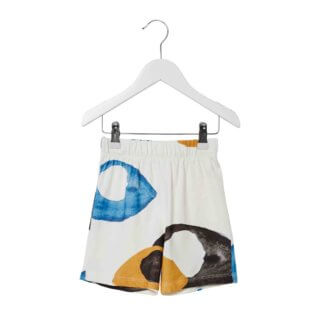 pepeandnika presents wawa copenhagen elegant kidsbrand summerclothes basic Sweatshirt for girls and boys organic kids shorts unisex eyes print